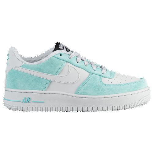 29ea950d8a9 Nike Air Force 1 Low - Boys  Grade School - Basketball - Shoes - Island  Green Pure Platinum
