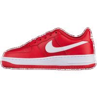 Nike Air Force 1 Transparente À Faible Étoiles Rouges