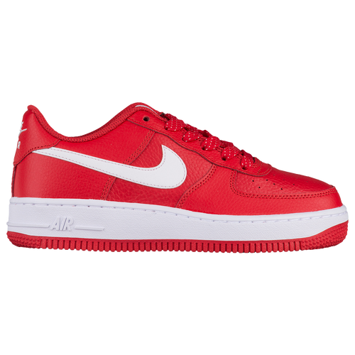brand new 8d2eb f11ce Nike Air Force 1 Low - Boys  Grade School - Basketball - Shoes - University  Red White Black