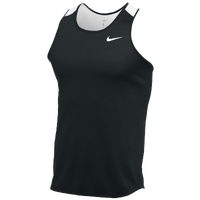 Nike Team Breathe Singlet - Men's - Black / White