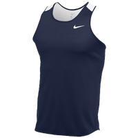 Nike Team Breathe Singlet - Men's - Navy / White