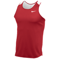 Nike Team Breathe Singlet - Men's - Red / White