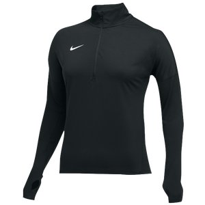 Nike Team Dry Element 1/2 Zip Top - Women's - Black/White