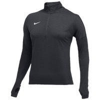 Nike Team Dry Element 1/2 Zip Top - Women's - Grey / White