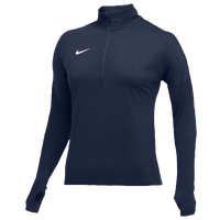 Nike Team Dry Element 1/2 Zip Top - Women's - Navy / Navy