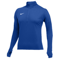 Nike Team Dry Element 1/2 Zip Top - Women's - Blue / Blue