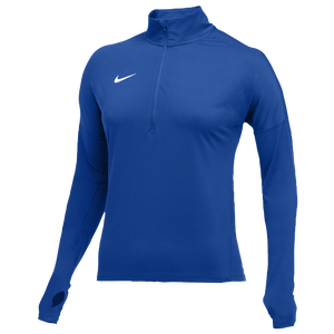 Nike Team Dry Element 1/2 Zip Top - Women's - Royal/White