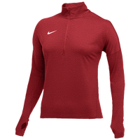 Nike Team Dry Element 1/2 Zip Top - Women's - Red / White