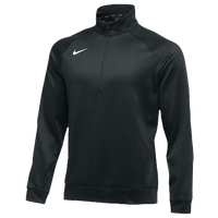 Nike Team Therma 1/4 Zip Top - Men's - All Black / Black
