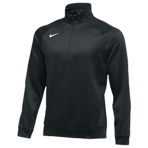 Nike Team Therma 1/4 Zip Top - Men's - Black/White