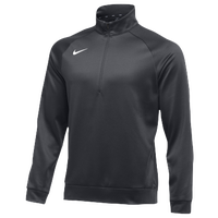 Nike Team Therma 1/4 Zip Top - Men's - Grey / Grey