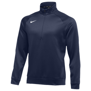 Nike Team Therma 1/4 Zip Top - Men's - Navy/White