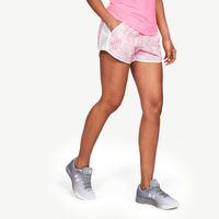 Under Armour HeatGear Fly By Run Shorts - Women's - White / Pink