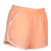 Under Armour HeatGear Fly By Run Shorts - Women's - Orange