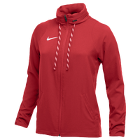 Nike Team Dry Jacket - Women's - Red / Red