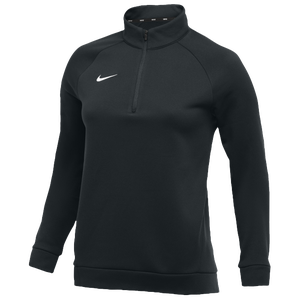 Nike Team Therma 1/4 Zip Top - Women's - Black/White