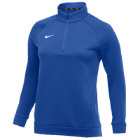 Nike Team Therma 1/4 Zip Top - Women's - Blue / Blue