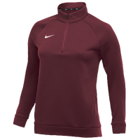 Nike Team Therma 1/4 Zip Top - Women's - Cardinal / Cardinal