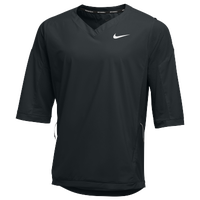Nike Team 3/4 Hot Jacket - Men's - All Black / Black