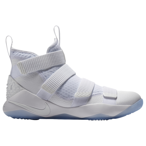 Nike LeBron Soldier 11 - Men\u0027s - Basketball - Shoes - James, Lebron -  White/Pure Platinum