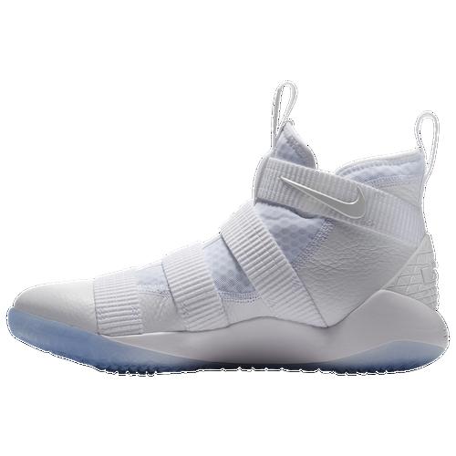 Nike LeBron Soldier 11 - Men\u0027s - Basketball - Shoes - James, Lebron -  White/Pure Platinum