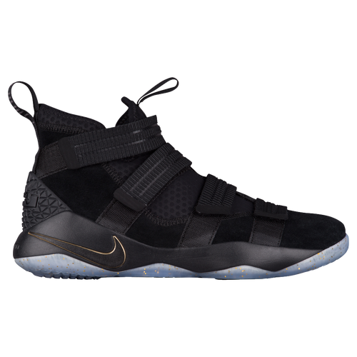 Nike LeBron Soldier 11 SFG - Men's - Basketball - Shoes - James, Lebron -  Black/Metallic Gold/White