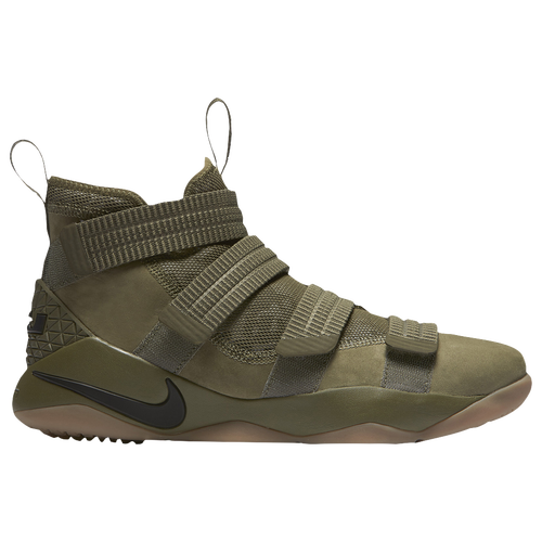 Nike LeBron Soldier 11 SFG - Men\u0027s - LeBron James - Olive Green / Tan