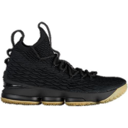 Nike LeBron 15 - Men's - Basketball - Shoes - James, Lebron - Black/Light  Brown Gum