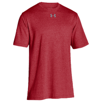 Under Armour Team Stadium S/S T-Shirt - Men's - Red / Red