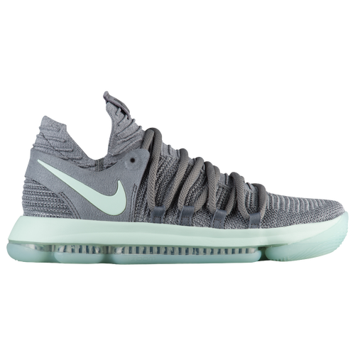 Nike KD X - Men's - Basketball - Shoes - Durant, Kevin - Cool  Grey/Igloo/White
