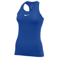 Nike Pro Tank All Over Mesh - Women's - Blue