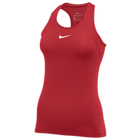 Nike Pro Tank All Over Mesh - Women's - Red