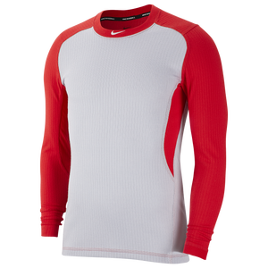 red nike long sleeve shirt