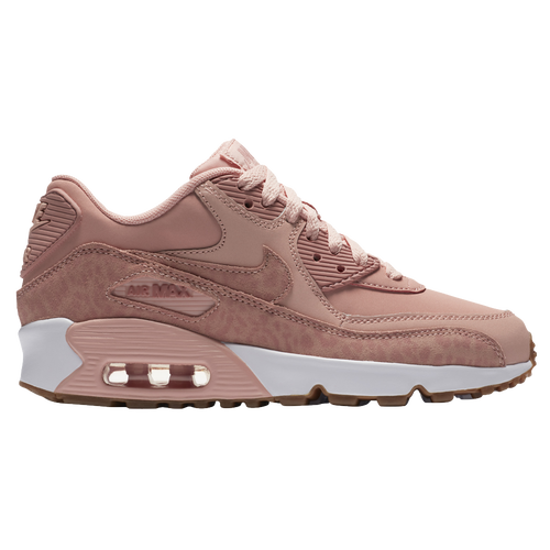Nike Air Max 90 Girls' Grade School Casual Shoes Coral