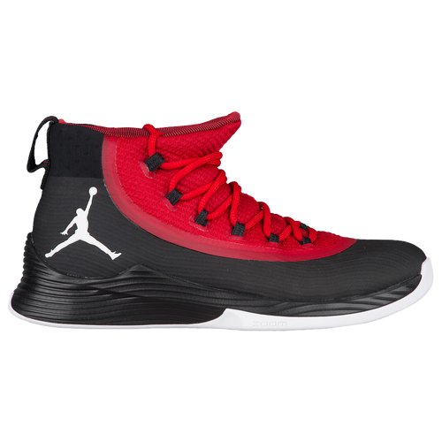 Jordan Ultra.Fly 2 - Men's Basketball - Black/White/Gym Red 97998001