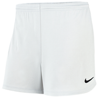Nike Team Park Dry II Shorts - Women's - All White / White
