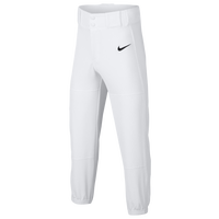 Nike Youth Core Baseball Pants - Boys' Grade School - White / Black