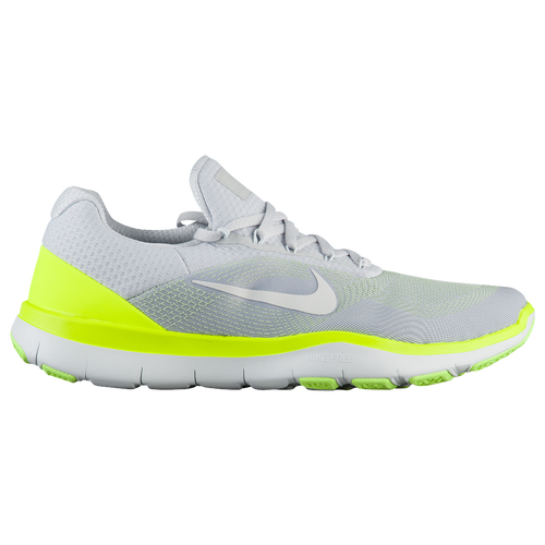 Nike Free Trainer V7 - Men's - Training - Shoes - Pure Platinum/Volt/Ghost  Green