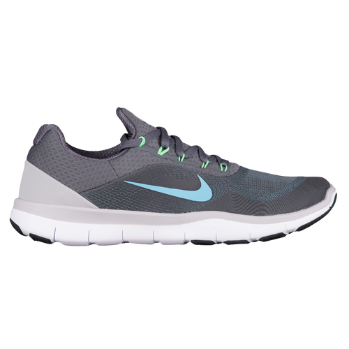 Nike Free Trainer V7 - Men's - Training - Shoes - Dark Grey/Blue Fury/Wolf  Grey