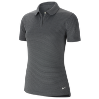 Nike Dry Victory Texture Golf Polo - Women's - Grey