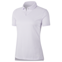 Nike Dry Victory Texture Golf Polo - Women's - Purple