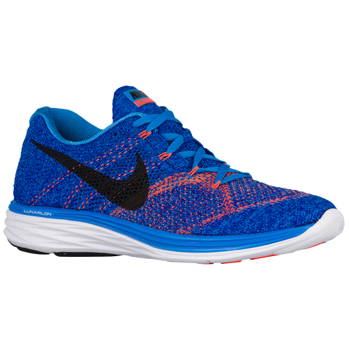 79114f4d7ae Nike Flyknit Lunar 3 - Men's - Running - Shoes - Photo Blue/Concord ...