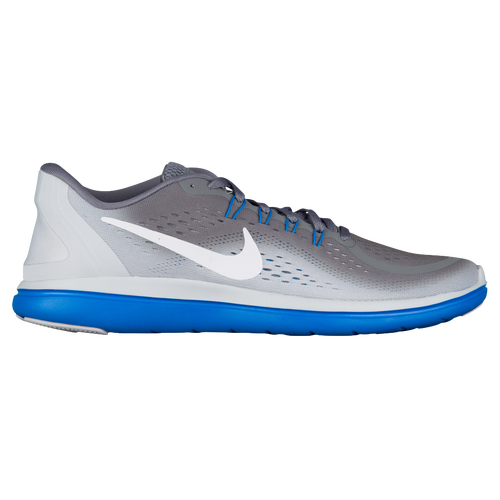 Nike Flex RN 2017 - Men s - Running - Shoes - Cool Grey White Pure  Platinum Photo Blue 9792608a5
