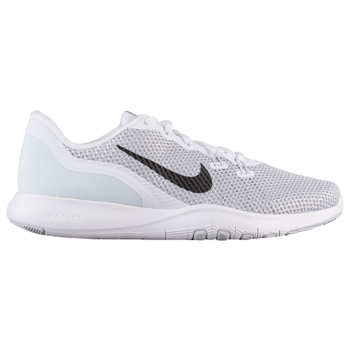 3335164273c Nike Flex Trainer 7 - Women s - Training - Shoes - White Metallic ...