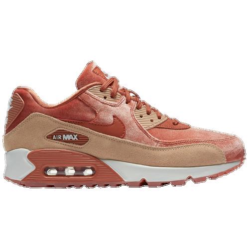 b9a82c7e75b3e Nike Air Max 90 LX Velvet - Women s - Casual - Shoes - Dusty Peach Dusty  Peach Bio Beige Summit White
