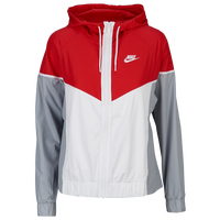 Nike Team NSW Windrunner Jacket - Women's - Red / White