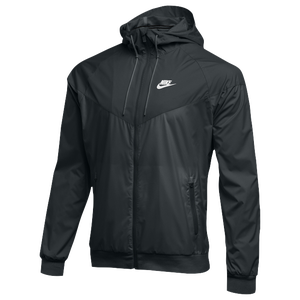 Nike Team NSW Windrunner Jacket - Men's - Black/Black/Black
