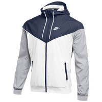 Nike Team NSW Windrunner Jacket - Men's - Navy / White