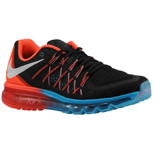 Nike Air Max 2015 - Men's - Running - Shoes - Black/Bright Crimson/Blue  Lagoon/White