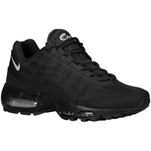 newest 646ef e7521 Nike Air Max 95 Premium Tape - Mens - Running - Shoes - BlackBlackSilver ...
